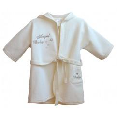 Baby Bademantel mit Kapuze Angel Baby